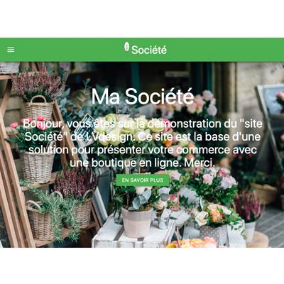 Votre site société pour votre e-commerce